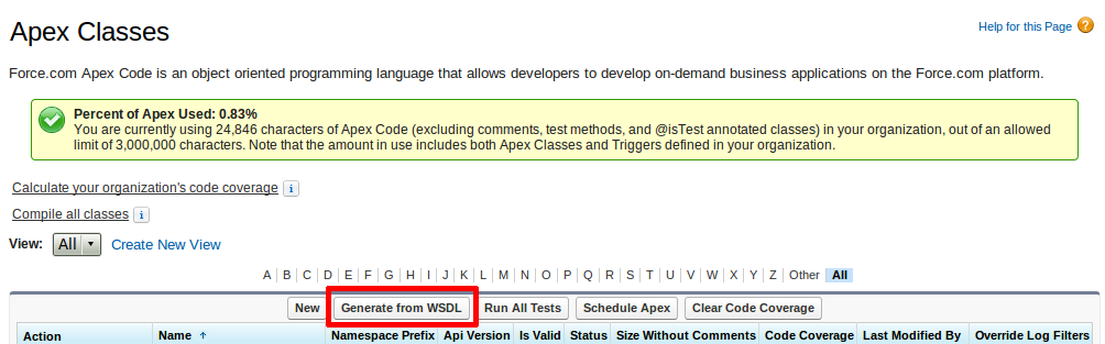 Salesforce: Real-time integration using Apex callout - WDCi