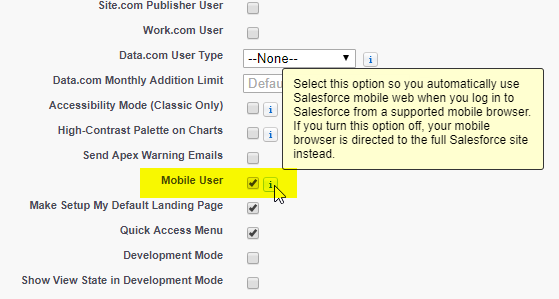 Access Salesforce Mobile App without Installing it - WDCi Group